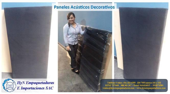 Paneles ac sticos hyn empaquetaduras e importaciones sac - Panel decorativo poliuretano ...